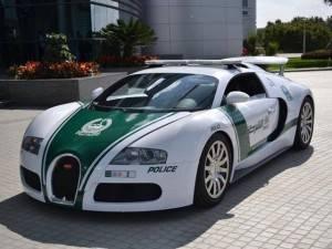 Дубайская полиция готова для погони за преступниками на Bugatti Veyron