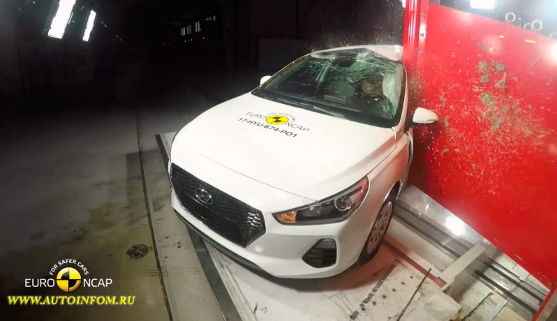 2017 Hyundai i30 crash test, Hyundai i30 crash test, Crash test, Car Crash, Hyundai i30 Euro NCAP crash test, краш тест видео, видео краш тест драйв, рейтинг краш тестов автомобилей, euro ncap краш тест, самые безопасные машины по краш тестам, смотреть краш тест, видео краш теста
