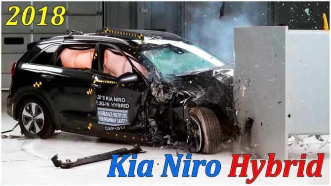 за рулем июль 2018, тестдрайв, 2018 Kia Niro Plug-in Hybrid, kia niro, kia niro ev, kia niro hybrid, kia niro ev 2018, kia niro 2018, гибридный кроссовер kia niro, киа ниро, киа ниро кроссовер, киа ниро гибрид, киа ниро 2018, киа ниро ев, киа ниро ev, новый кроссовер киа ниро, crash test, краш тест, столкновение автомобилей, лобовое столкновение автомобилей