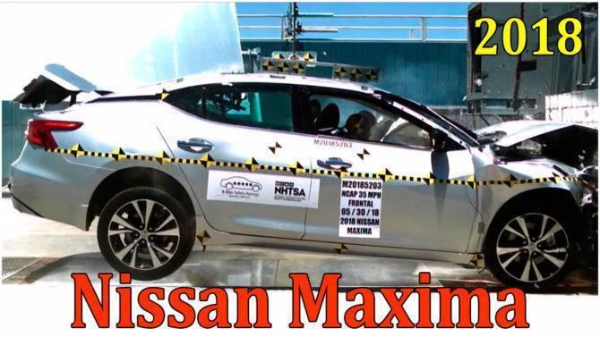 frontal impact, nissan maxima, nissan maxima 2018, nissan maxima 2016, ниссан максима, ниссан максима 2018, новый ниссан максима, автомобиль ниссан максима, ниссан максима 2018 новый кузов, краш тест видео, краш тест машин, краш тест драйв, краш тесты автомобилей, краш тест авто, рейтинг краш тестов автомобилей, евронкап краш тесты, краш тесты 2018, crash test, краш тест, nissan, ниссан