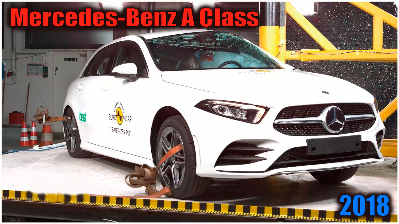 Mercedes-Benz A Class crash test assessment, Mercedes-Benz A Class safety rating assessment, Mercedes-Benz A Class safety, Mercedes-Benz A Class assessment, Mercedes-Benz A Class Euro NCAP crash test assessment, Mercedes-Benz A Class crash test, Mercedes-Benz A Class safety rating, Mercedes-Benz A Class Euro NCAP crash test, 2018 mercedes a-class, Mercedes-Benz A Class 2018, crash test, краш тест