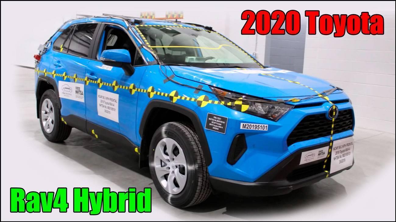 Полные краш тесты Toyota Rav4 Hybrid 2020