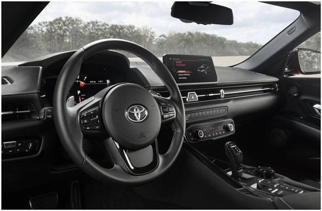 салон Toyota Supra 2020