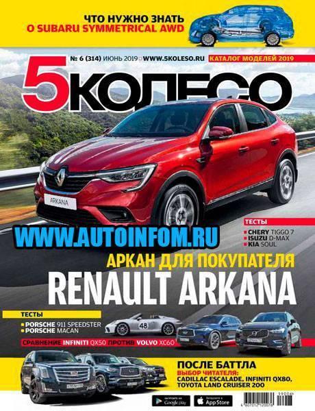 Журнал 5 Колесо №6 (июнь 2019)