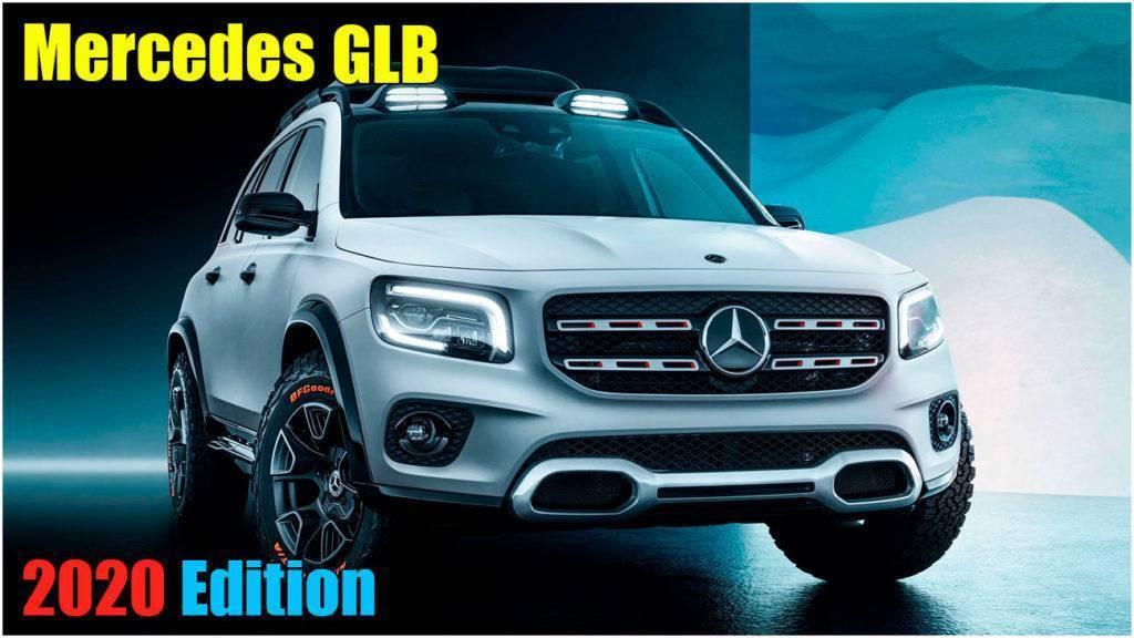 Обзор новый внедорожник Mercedes GLB 2020