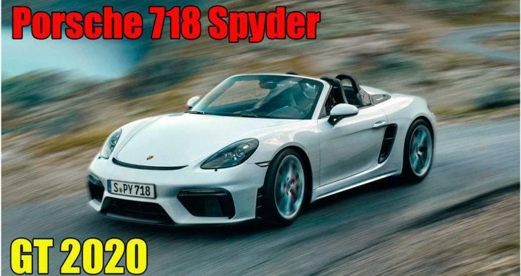 Новый обзор Porsche 718 Spyder GT 2020