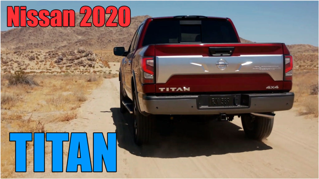Nissan TITAN 2020 новый полноразмерный пикап