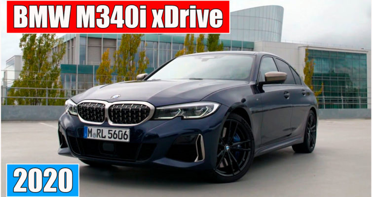 BMW M340i xDrive 2020 новый седан