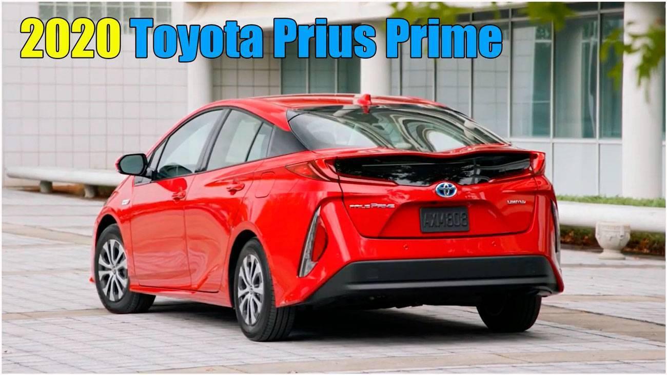 2020 Toyota Prius Prime краш тест обзор