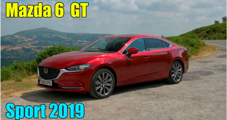Новая Mazda 6 2019 GT Sport