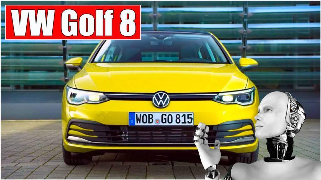 Обновленный VW Golf 8! Первый обзор новинки 2020