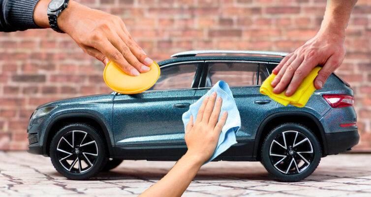 защитная полировка автомобиля